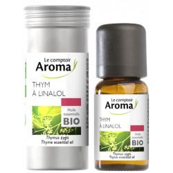 Thym Linalol Huile Essentielle Bio Comptoir Aroma 5 ml