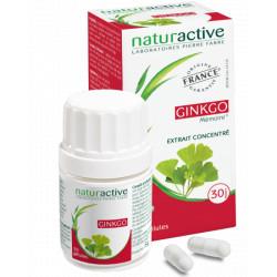 GINKGO  Naturactive 30 gelules