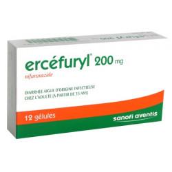 Ercefuryl 200 mg gelules
