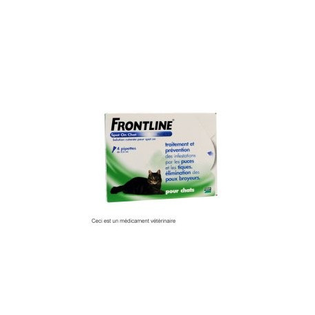 Frontline chat Spot-on 6 pipettes