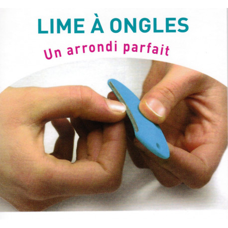 Lime à ongles demi lune Cout'coeur