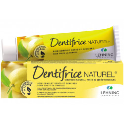 Dentifrice Naturel aux huiles essentielles de citron Lehning