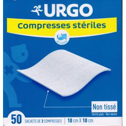 Compresses stériles en Non Tissé 10X10  Urgo