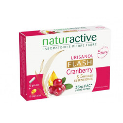 Urisanol Flash Naturactive au Cranberry