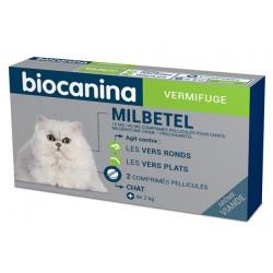 MILBETEL 16 mg/40 mg vermifuge chat  Biocanina