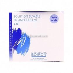 Veine dose, granules, gouttes, ampoules Boiron 4CH, 5CH, 7CH, 9CH, 12CH, 15CH, 30CH, 8DH