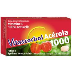 Vitascorbol Acerola 1000  30 comprimés