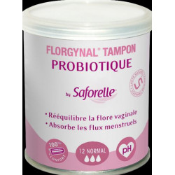 FLORGYNAL Tampon Probiotique sans applicateur