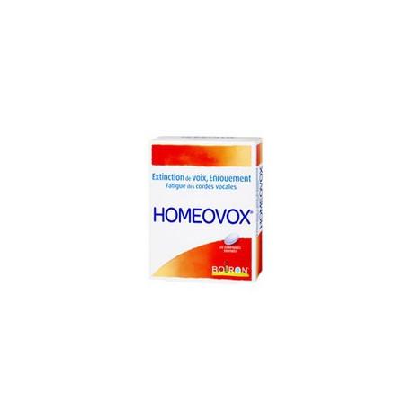 Homeovox 60 comprimés  Boiron