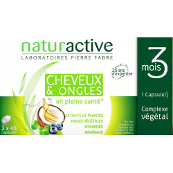 Cheveux et Ongles Naturactive capsules