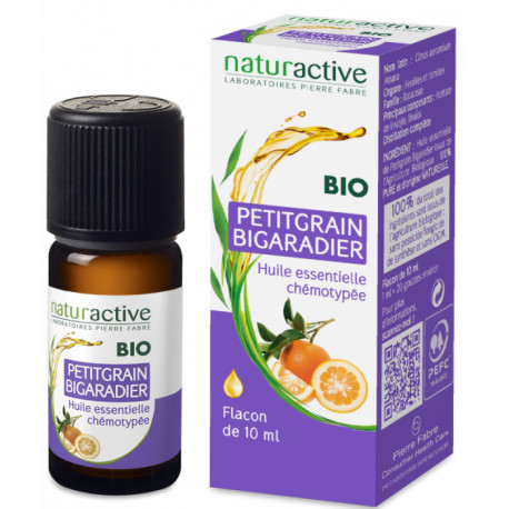 Petit Grain Bigaradier Huile Essentielle Bio 10 ml Naturactive