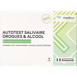 Autotest Salivaire, Drogues et Alcool Medisur