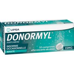 DONORMYL 15mg 10 comprimés effervescents