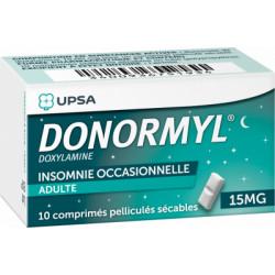 DONORMYL 15mg 10 comprimés sécables