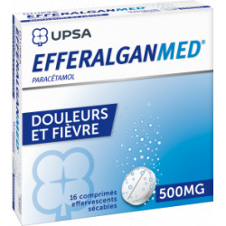 EfferalganMed 500mg  comprimes effervescents