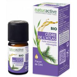 Cèdre de l'Atlas Huile Essentielle Bio 5 ml naturactive