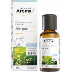 Agrumes Composition pour diffusion  aux huiles essentielles Bio  Comptoir aroma