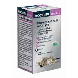 Recharge pour diffuseur anti stress chat Biocanina