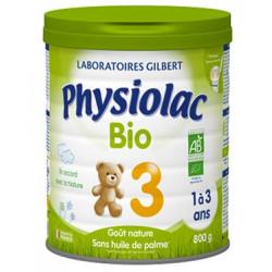 Physiolac Bio 3 Croissance lait poudre 800g