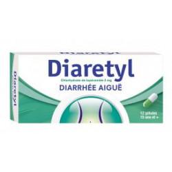 DIARETYL 2 mg gélules bt 12