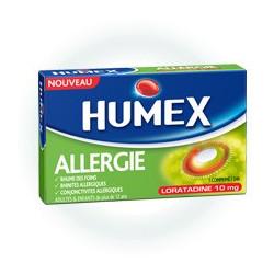 Humex Allergie Loratadine 10mg boite de 7