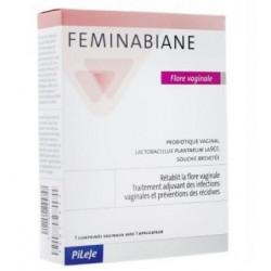 FEMINABIANE Flore vaginale comprimés vaginaux Pileje