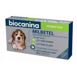 MILBETEL 2,5 mg/25 mg vermifuge petit chien ou chiot Biocanina