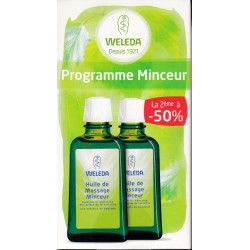 Huile de massage minceur Duo 2 flacons 100 ml Weleda
