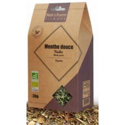 Menthe douce Bio 30 g Nat&Form