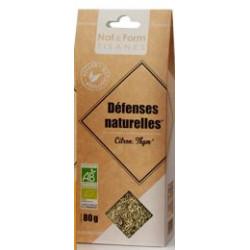 Défenses naturelles Tisane Bio Nat&Form 80 g