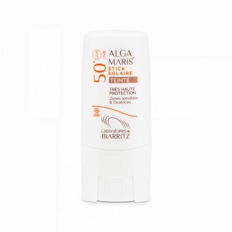 ALGA MARIS Stick Solaire Teinté  Bio SPF50+