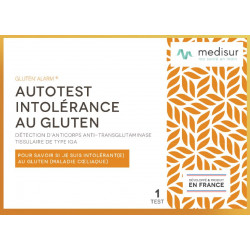Autotest Intolérance au Gluten Medisur