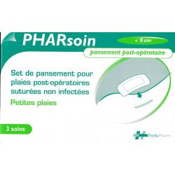 Set de pansement post-opératoire petites plaies PHARsoin
