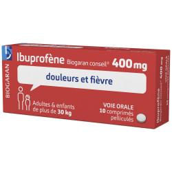 Ibuproféne Biogaran 400mg 10 comprimés pelliculés