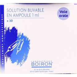 Silicium metallicum  ampoules Boiron  9CH
