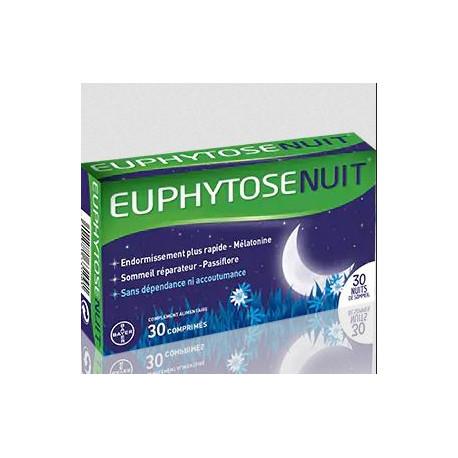 EuphytoseNuit à la Mélatonine 30 comprimés