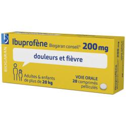 IBUPROFENE 200 mg  comprimés Biogaran