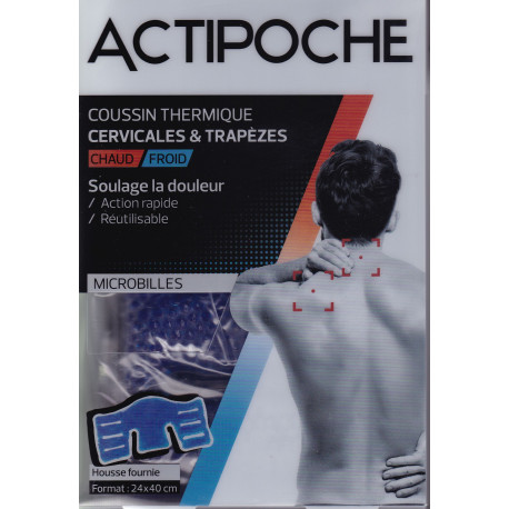 Actipoche Chaud-Froid Cervicales microbilles