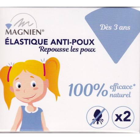 ELASTIQUE ANTI-POUX X 2 Magnien