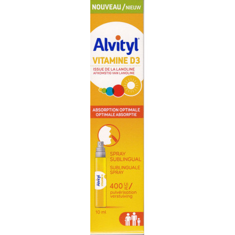 Vitamine D3 Spray Alvityl