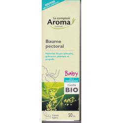 Baume pectoral Baby Bio 50ml