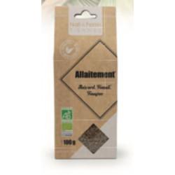 Tisane Allaitement Bio 100 g Nat&form