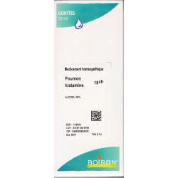 Poumon Histamine 15CH granules, gouttes, ampoules Boiron