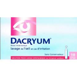 DACRYUM unidoses collyre