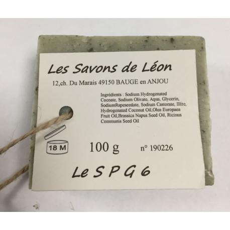 Savon artisanal à l'argile SPG Les savons de Léon