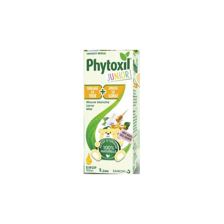 Phytoxil Junior Sirop Toux Gorge