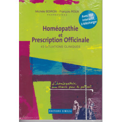 HOMÉOPATHIE ET PRESCRIPTION OFFICINALE