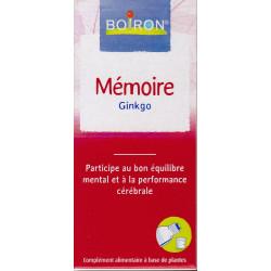 Memoire Ginkgo gouttes 60 ml Boiron