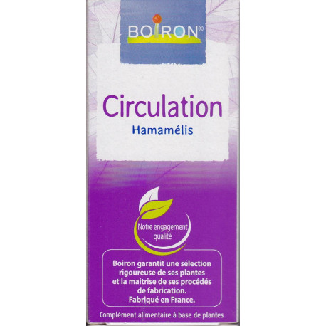 Circulation Hamamelis gouttes 60 ml Boiron