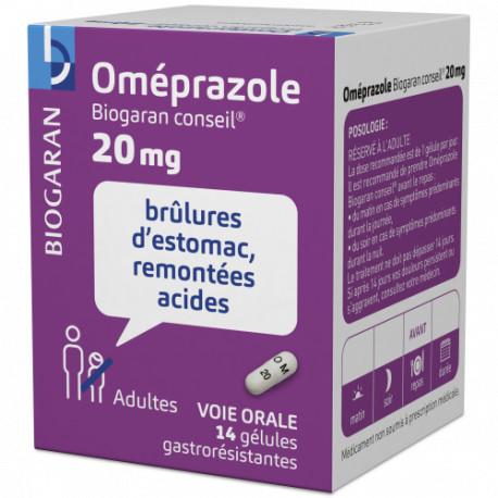 Omeprazole 20 mg Biogaran Conseil